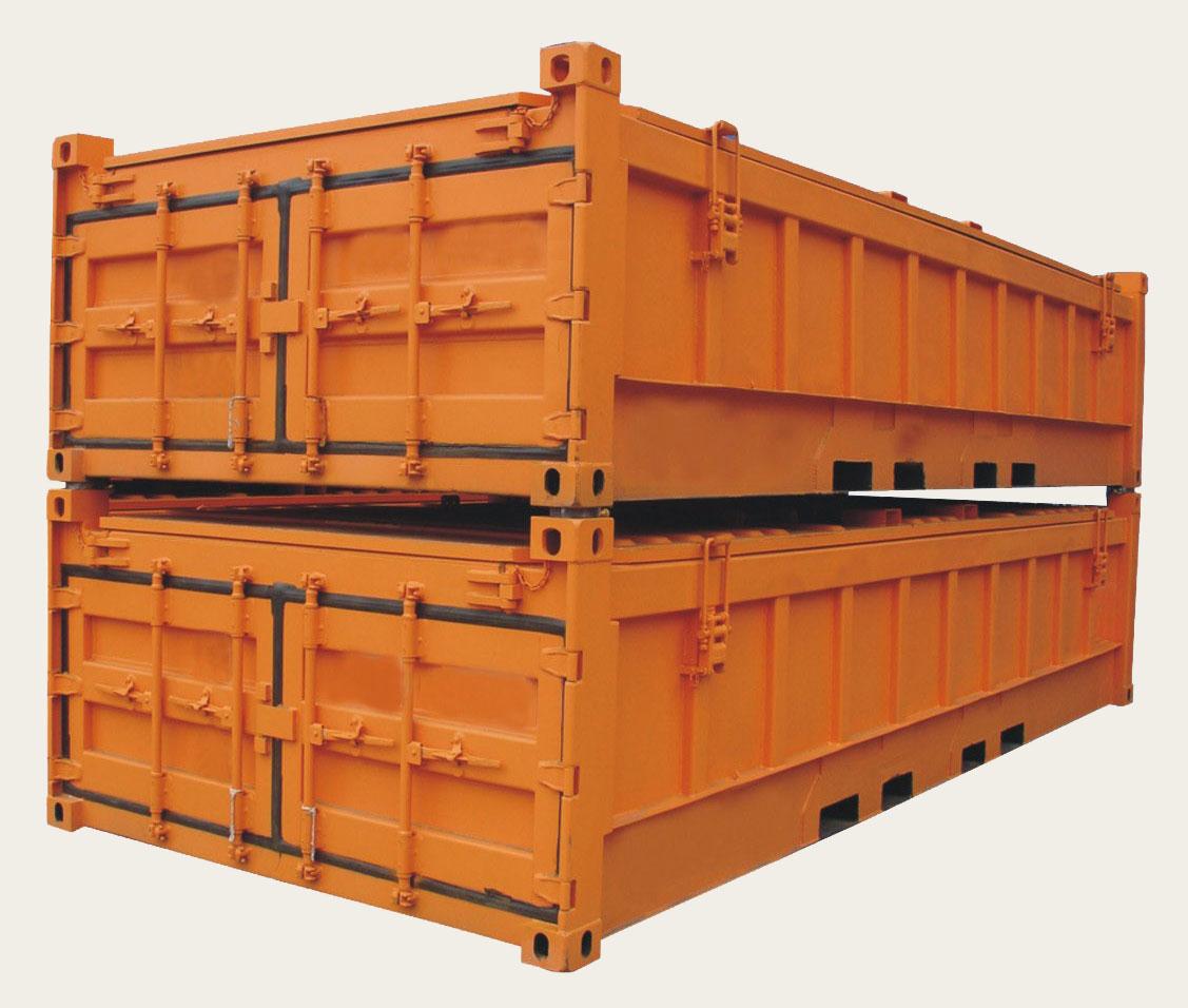 Виды контейнеров - Половинный контейнер
